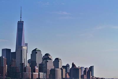 Photograph - World Trade Center by Andrew Verdi