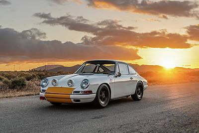 Photograph - Emory Porsche 911K by Drew Phillips
