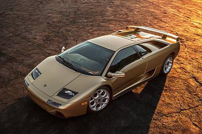 Photograph - Lamborghini Diablo 6.0 by Drew Phillips