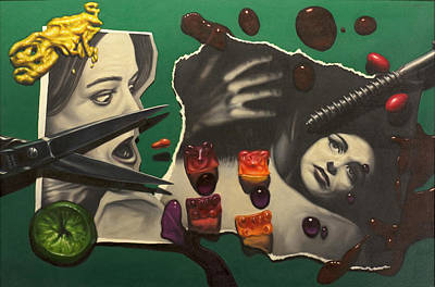 Scissors Paintings