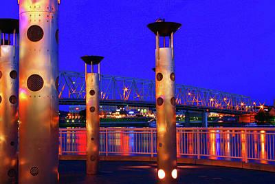 Photograph - Bridge to Kentucky by Tiffany J Morisue