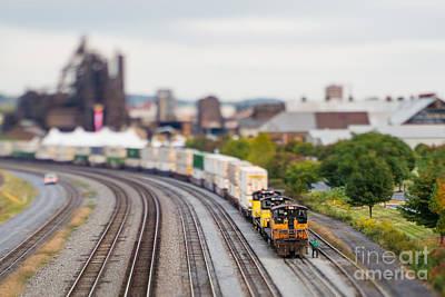 Rail Yard Photographs