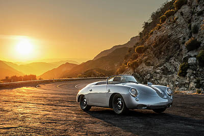 Photograph - Emory Porsche 356 Speedster Outlaw by Drew Phillips