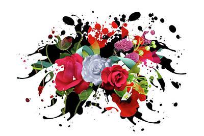 New Rose Mixed Media