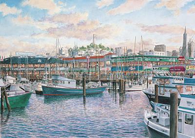 Fishermans Wharf Art Prints