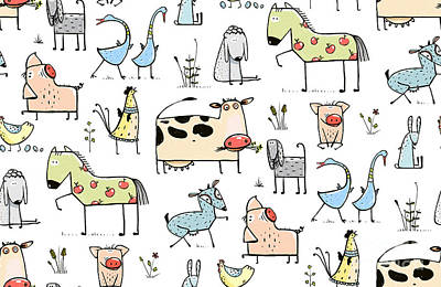 Geese Digital Art