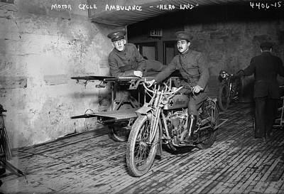 Vintage Military Digital Art