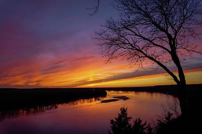 Photograph - Rocheport Sunset by Heath Cajandig