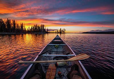 Canoe Wall Art
