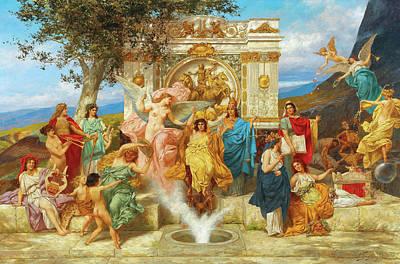Bacchanal Paintings