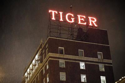 Photograph - Tiger Hotel by Heath Cajandig
