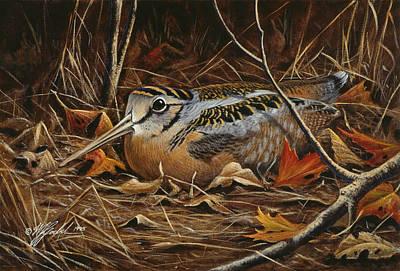 Woodcock Paintings