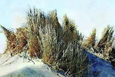 Painting - Beach Grass by Russ Harris