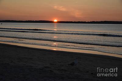 Photograph - Old Orchard Beach Sunrise by Cornelia DeDona