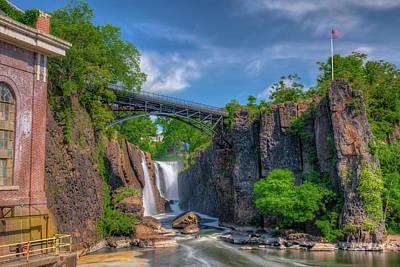 Photograph - Paterson Great Falls by Chad Dikun
