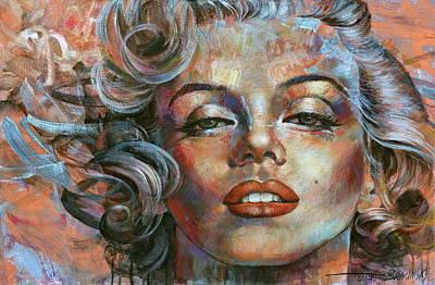 Marilyn Monroe Actress Original Artwork