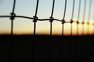 Photograph - Abstract Sunset by Saroum Giroux