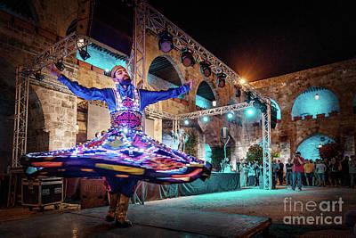 Photograph - Arabic Dancer by Naoki Takyo