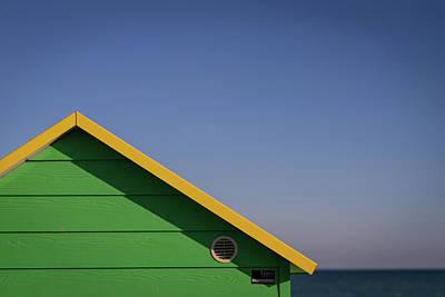 Photograph - Beach Hut by Simon Long