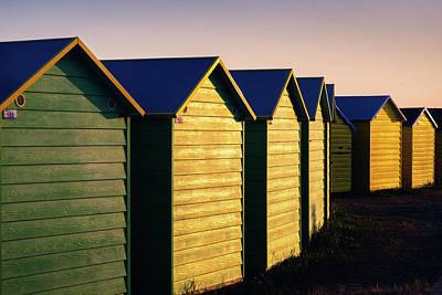 Photograph - Beach Huts by Simon Long