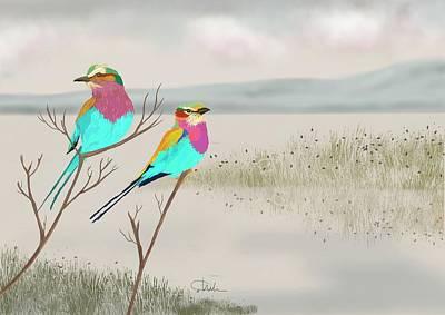 Digital Art - Bird Spotters Dream  by Christine Sherborne
