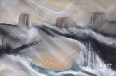 Drawing - Desert Breeze by Michael Schuessler