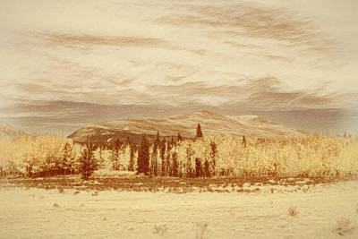 Digital Art - Easy Autumn Outside Of Alma by Mike Braun