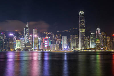 Photograph - Hong Kong Island Cityscape by Travel and Destinations - By Mike Clegg