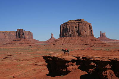 Photograph - John Ford's Point Monument Valley by Elizabeth Rose