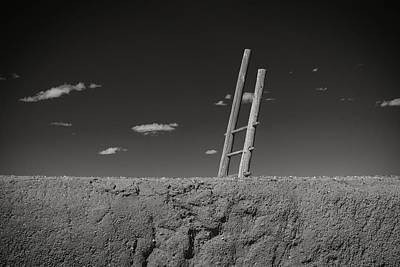 Photograph - Kiva Ladder by Bud Simpson