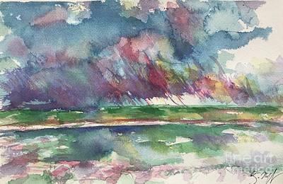 Painting - Lake Cherette #1 by Glen Neff
