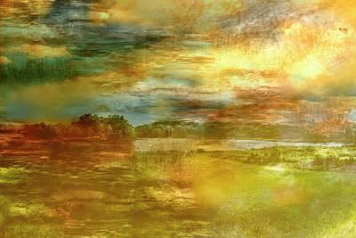 Digital Art - Lake I by Vin De Rosa