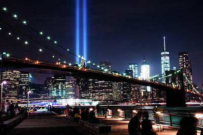Photograph - New York City Lights by Seascaping Photography