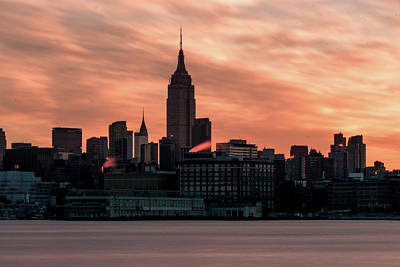 Photograph - New York Sunrise by Seascaping Photography