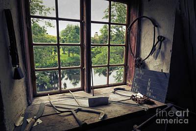 Photograph - Old Window of Forsmarks Bruk by Naoki Takyo