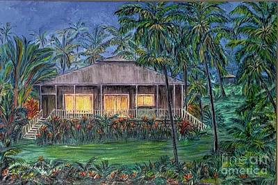 Painting - Rainbow Cottage by Michael Silbaugh