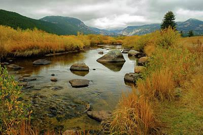 Photograph - Rocky Mountain Stream by Alan Boucher