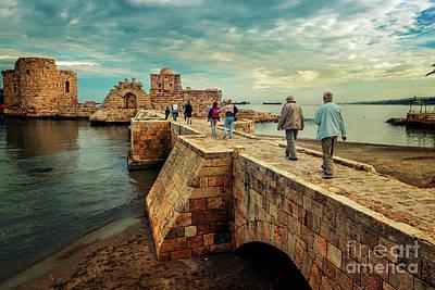 Photograph - Saida Sea Castle by Naoki Takyo