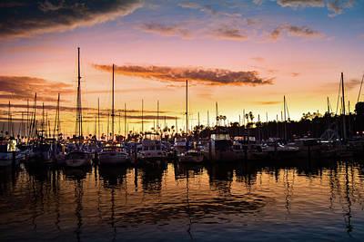 Photograph - Santa Barbara Harbor by Seascaping Photography