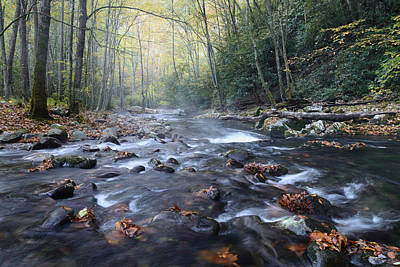Photograph - Smoky Streams by Thom Photography