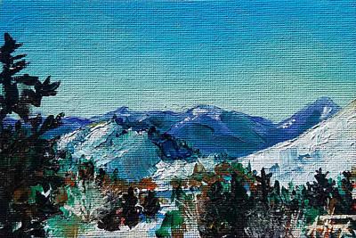 Painting - Teton View by Allison Fox
