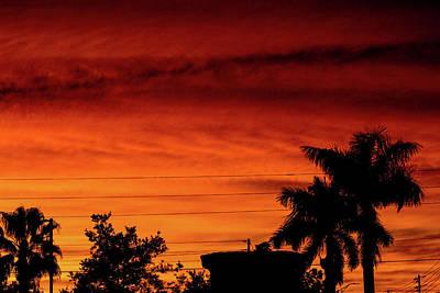 Sky On Fire Photographs