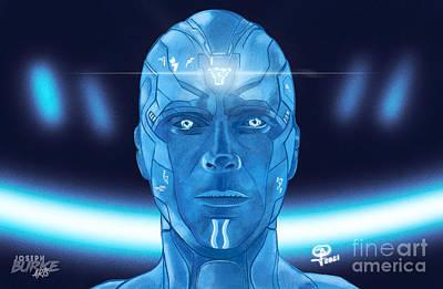 Digital Art - The Vision by Joseph Burke