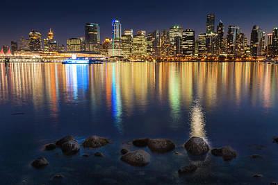 Photograph - Vancouver Skyline by Rainer and Simone Hoffmann