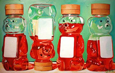Honey Paintings
