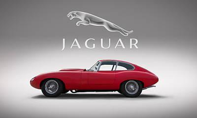 Jaguar Xke Digital Art