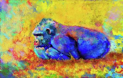 Photograph - Gorilla by Test
