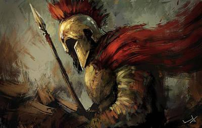 God Of War Wall Art