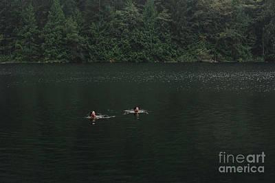 Designs Similar to Couple Swimming In Lake