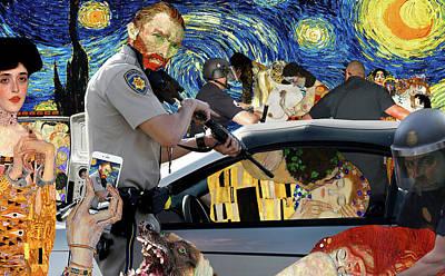 Post Impressionism Mixed Media
